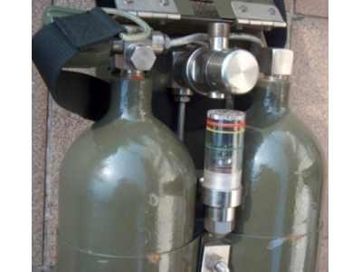 Vojenská tlaková nádoba 2x2l/300bar