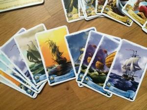 Karty lodí o něž se bojuje